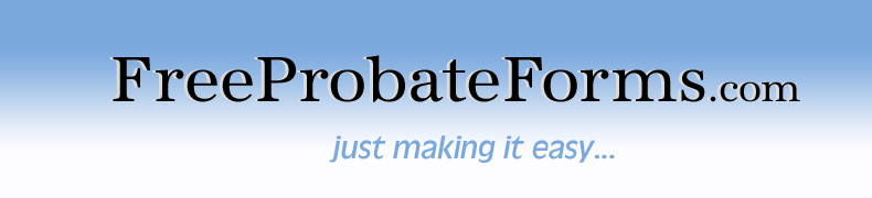 Free Probate Forms